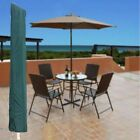 Round Garden Patio Parasol Umbrella Sun Shade Cover Outdoor Draw String Neck