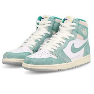 7fa800b089e2b Nike Air Jordan 1 Retro High OG I AJ1 Turbo Green Sail Grey Men ...