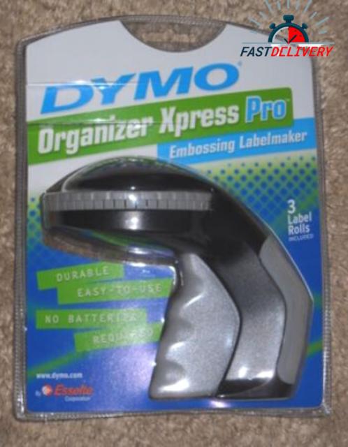 Dymo DYM12966 Organizer Xpress Pro Manual Label Maker