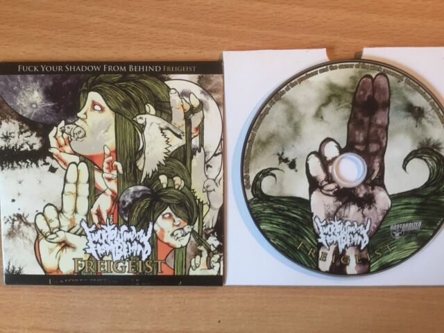 """FREIGEIST -""""Fuck Your Shadow""""- Rare Promo Only CD 2010-Death Metalcore-BRAND NEW"""