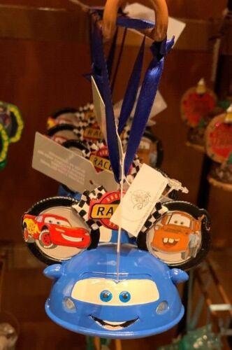 DISNEY PARKS MICKEY EARS RADIATOR SPRINGS LIGHT UP SCULPTED CHRISTMAS ORNAMENT
