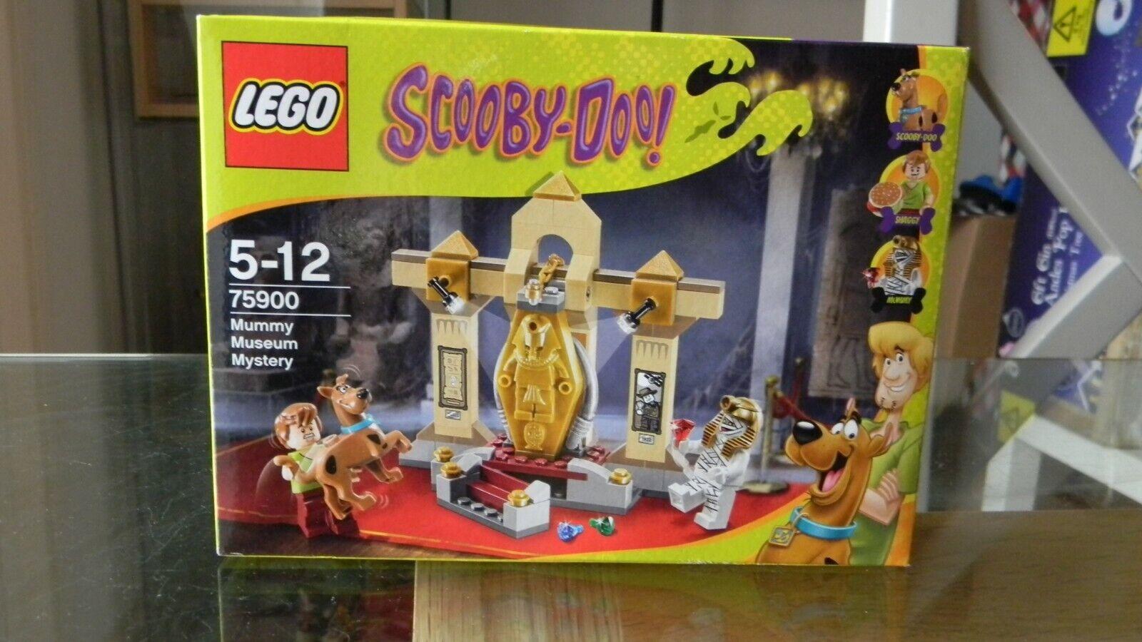 Lego Scooby Doo-Momia Museo misterio 75900   Raro Nuevo Sellado