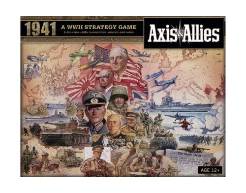 Board Games Axis And Allies 1941 World War II Kids Family Board Game Home Travel