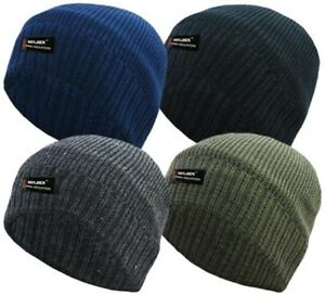 RockJock Boys 3M Thinsulate Fleece Lined Thermal Winter Beanie hat for School /& Outdoor pursuits