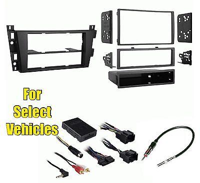 retains Steering Controls Car Stereo Radio Install Kit Combo Onstar w//+w//o Bose