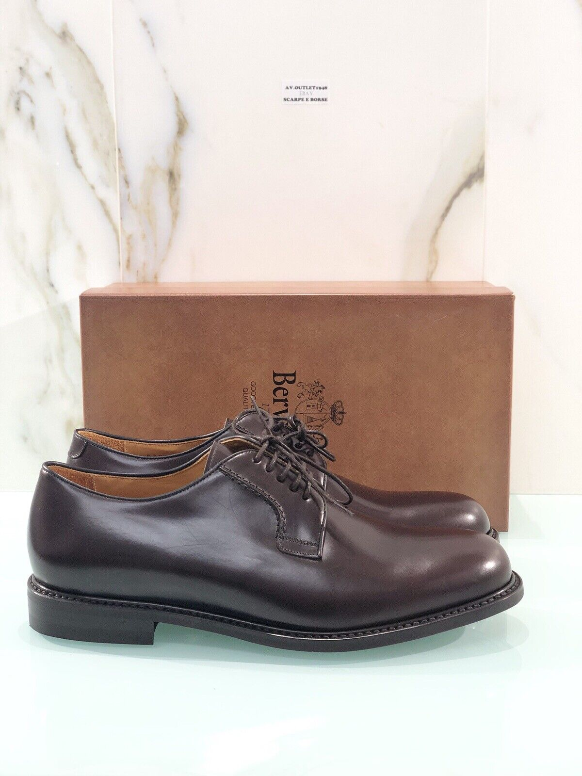 Berwick 1707 4313 In Pelle Crokex Fondo Dainite British Sole H0192 Stringata