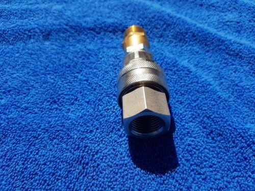 Hidrolimpiadora Alta Presión Manguera de acoplamiento de liberación rápida Convertidor Nilfisk 1//2 Acero