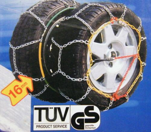 Estable cadena de nieve 235//55 R 17 con ö-norma Ford Kuga off road 4016 **