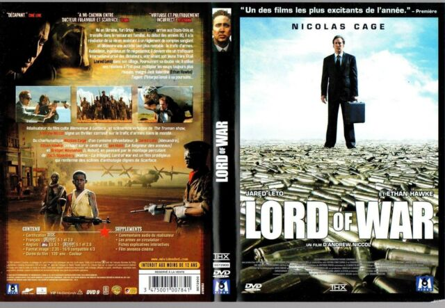 DVD *** LORD OF WAR *** avec Nicolas Cage
