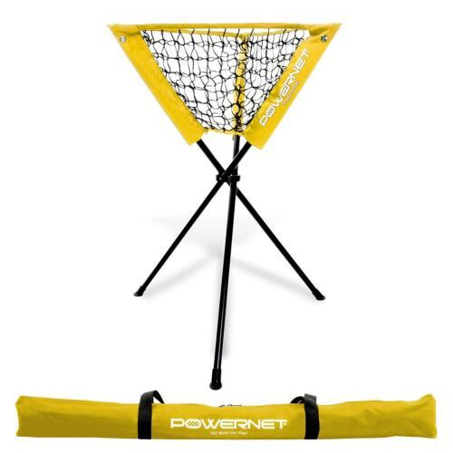 Refurbished PowerNet Baseball Softball Practice Portable Ball Caddy Team Colors