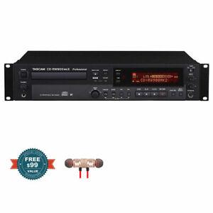 Tascam-CD-RW900MKII-Professsional-CD-Recorder-w-Free-Wireless-Earbuds-New