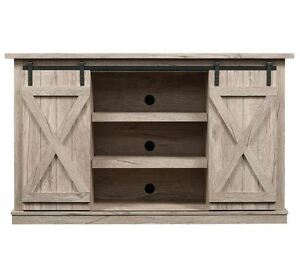 Image Is Loading Rustic Tv Stand Console Up To 60 034