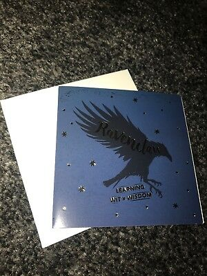Primark Harry Potter Christmas Cards Houses Gryffindor Greetings Birthday Blank