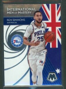 2019-20 Ben Simmons Panini Mosaic International Men Of Mastery