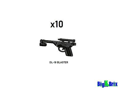 x10 Lot E22 Blaster for Star Wars Lego Minifigure