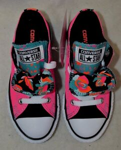 23a9b42d3e4c Image is loading Converse-Chuck-Taylor-Double-Tongue-OX-Neo-Pink-