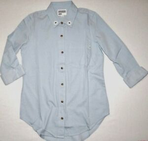 83dbcf0724f New Vans Womens Geyer Long Sleeve Woven Button Up Cotton Casual ...