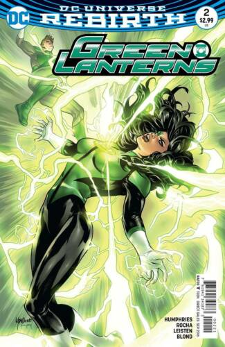 GREEN LANTERNS #2 VARIANT DC COMICS REBIRTH 2016 NM