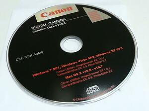 Details about Canon Digital Camera Solution Disk v119 0 ImageBrowser  PhotoStitch
