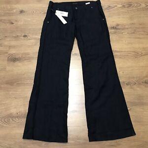 calvin klein linen pants womens