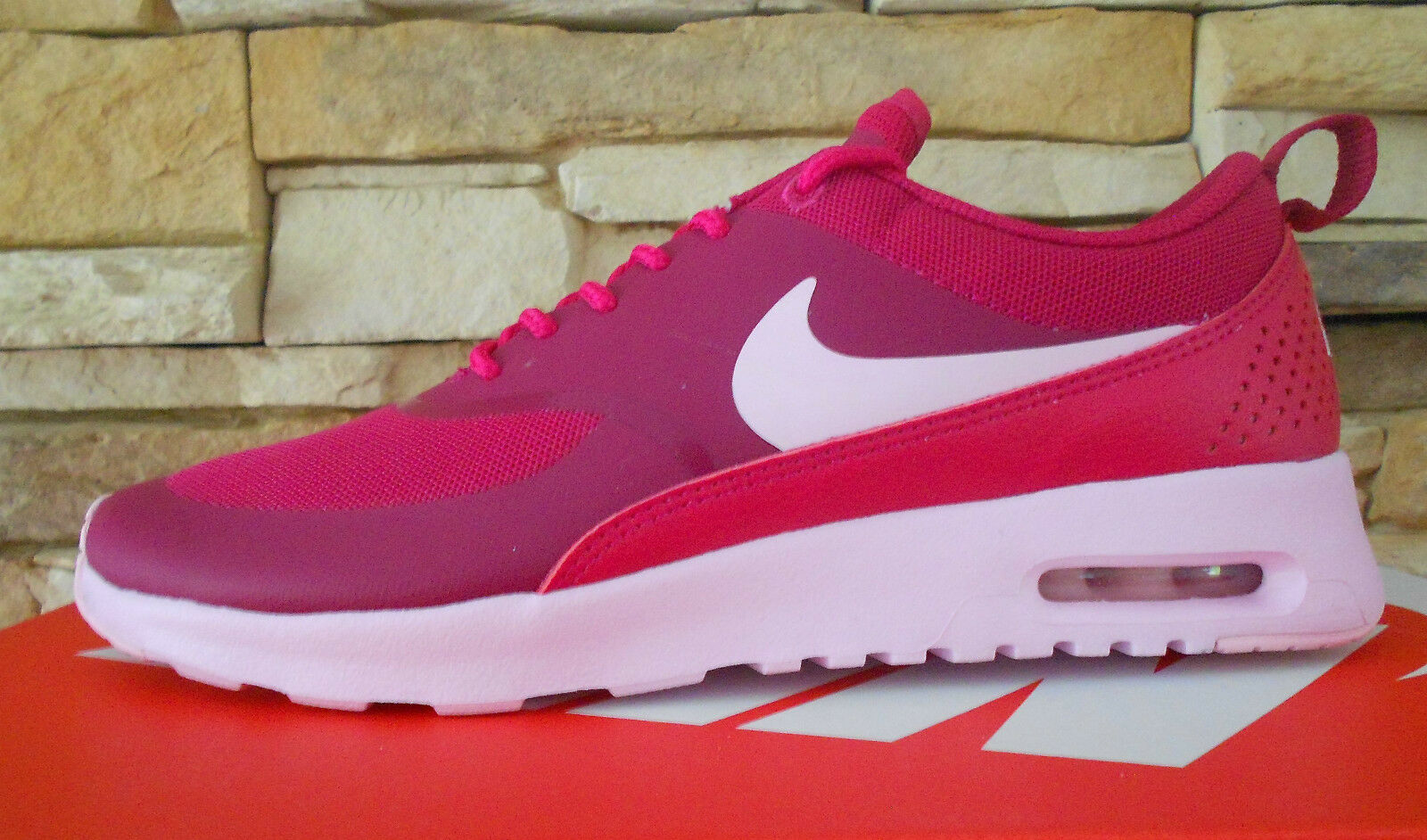 Nike Air Max Thea sportfuchsia/prism pink Gr. 1 38 (US 7) 1 Gr. 90 93 95 97 270 Plus a03e6f