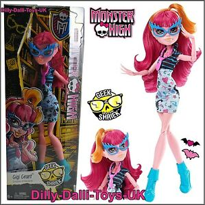MONSTER HIGH Gigi Grant Doll From the GEEK SHRIEK Series Chic