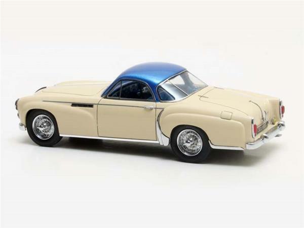 Matrix Delahaye 235 Coupe Chapron white bluee 1958 1 43 MX