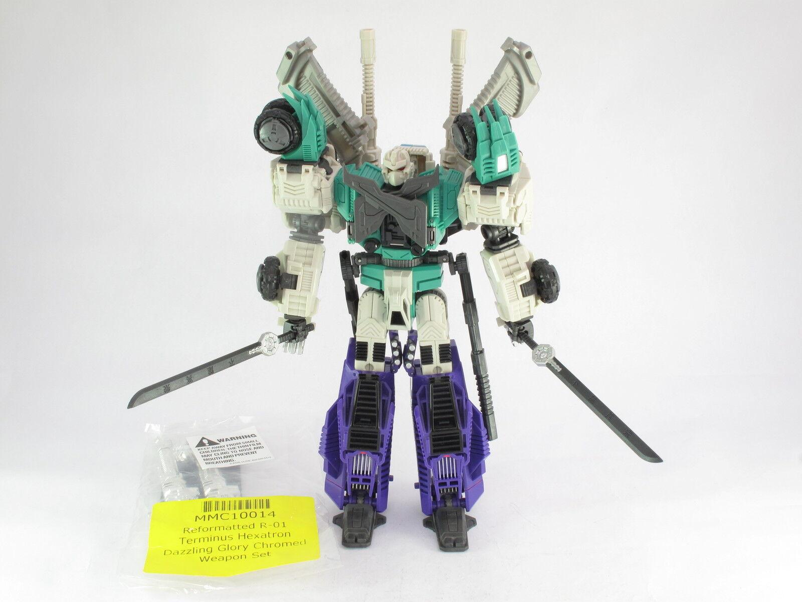 Transformers Mastermind Creations Terminus Hexatron 1st EDIZIONE & aggiornamento R-01
