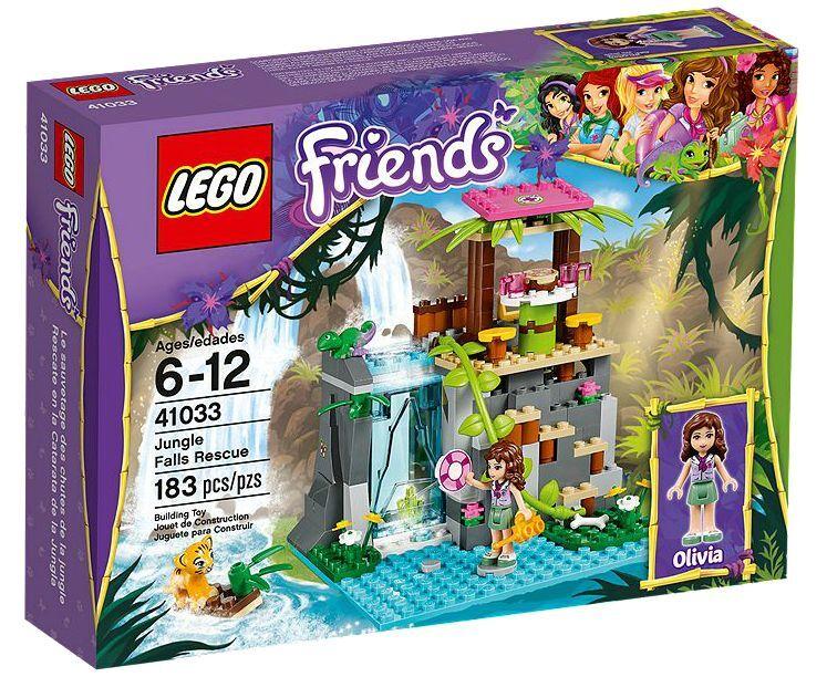 Lego  ® Friends 41033 Jungle Falls Rescue nouveau OVP nouveau MISB NRFB  le réseau le plus bas
