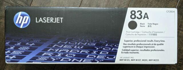 Brand New Genuine HP 83A Black Toner Cartridge CF283A Sealed