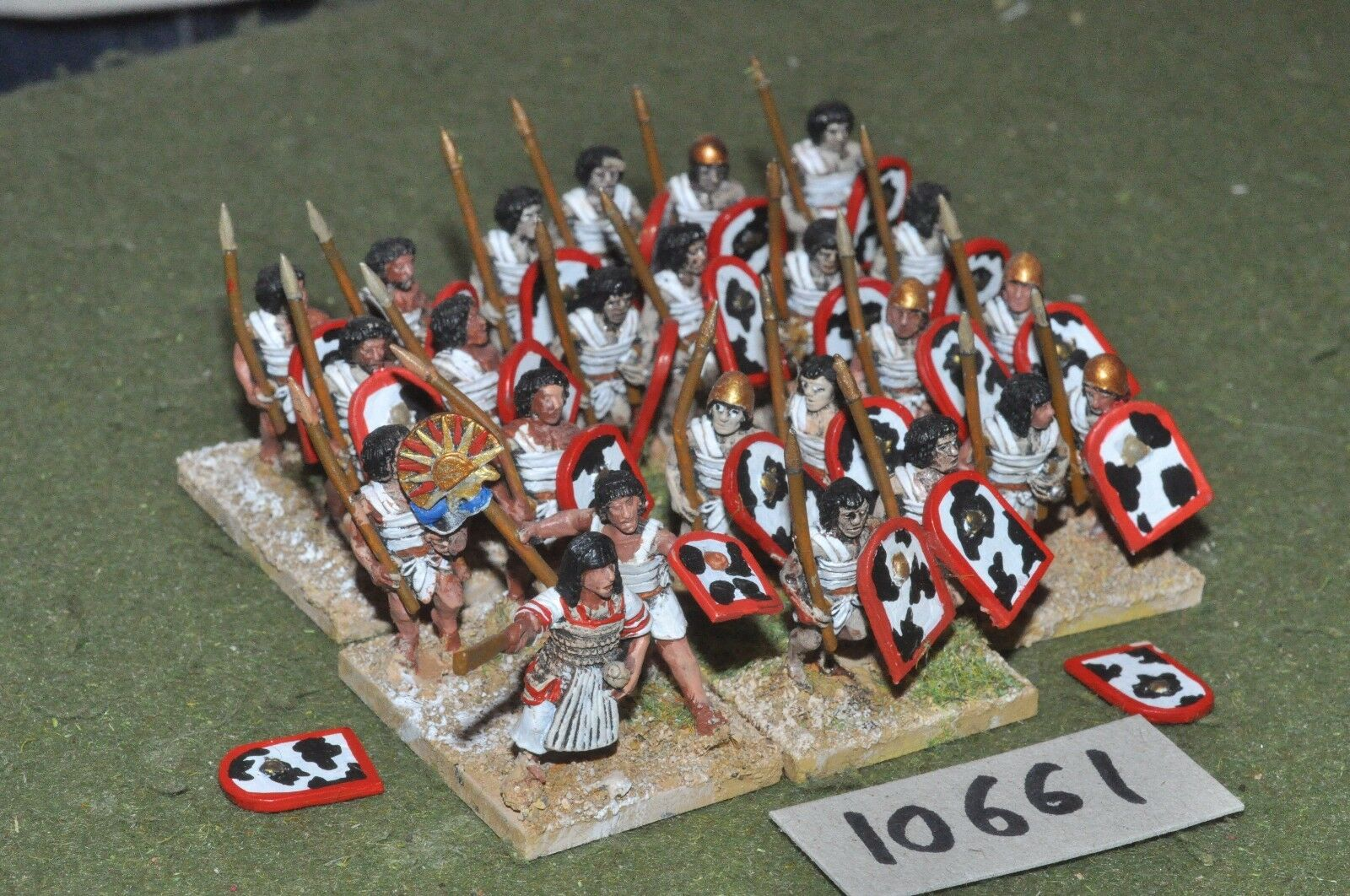 25mm biblical   egyptian - foundry spearmen 24 infantry - inf (10661)