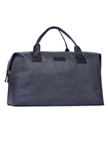 3d8f46c00ce6 John Varvatos Handbag Travel Weekender Gym Bag Nwt Duffle Overnight Blue  R6xdrUR