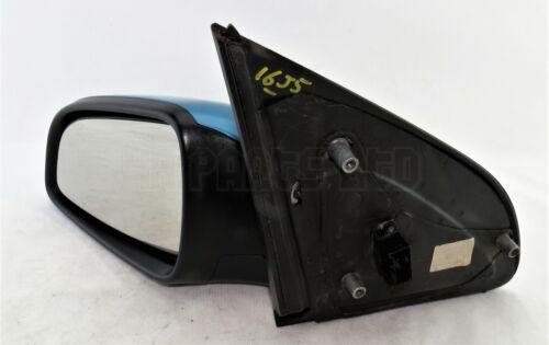 2004-2009 Vauxhall Astra-H MK5 Left Side Electric Door Mirror Met Breeze Blue