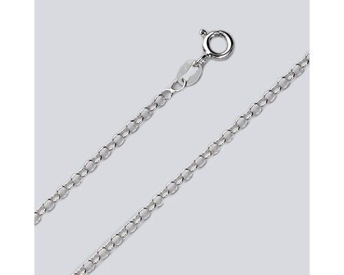 """18/"""" Sterling Silver Necklace Italian Round Rolo Chain Pure 925 Italy Wholesale"""