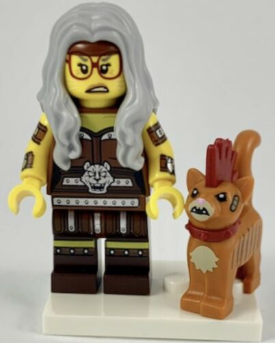 LEGO Minifigures Series Movie 2 71023 Sherry Scratchen-Post /& Scarfield New