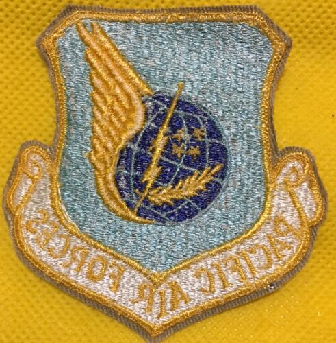 - USAF Patch PACAF PACIFIC AIR FORCES Obsolete design - NEW//UNISSUED