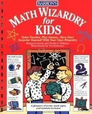 Math Wizardry for Kids Scholastic Edition Glossary Solve Puzzles Games Projects