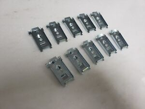 1950-PLYMOUTH-BRAND-NEW-ROCKER-SILL-MOLDING-CLIPS-LARGE-LONG-BOTTOM-TRIM-CLIPS