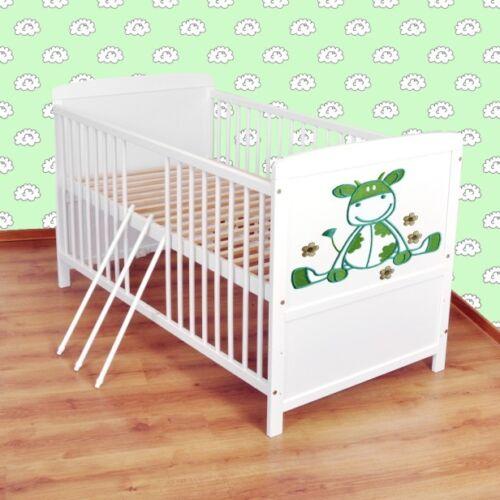 Juniorbett umbaubar 140x70 Weiß nr 3 Babybett  Kinderbett