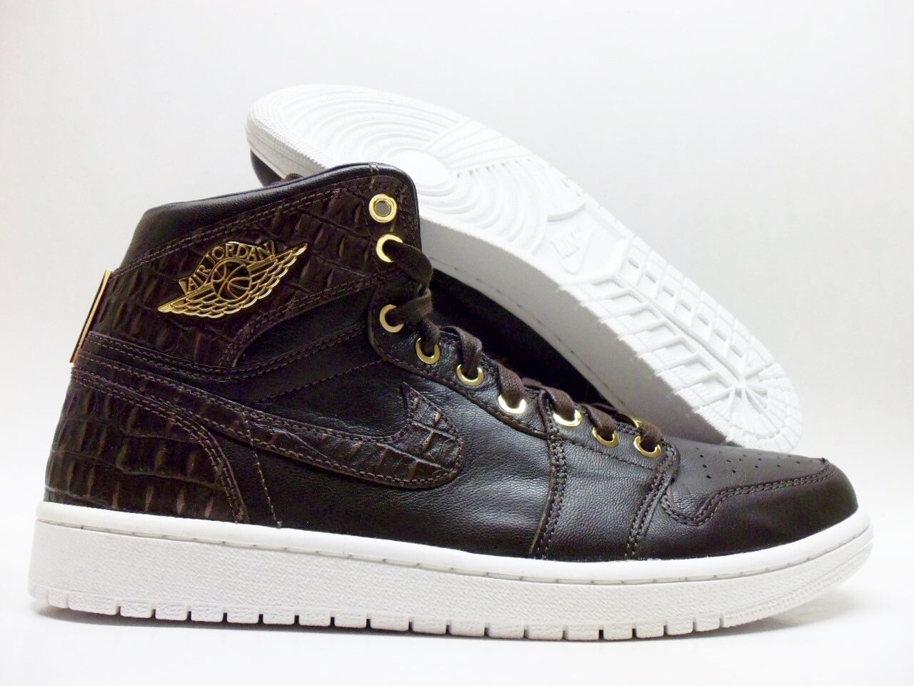 Nike Air Jordan 1 metalico Pinnacle marron / oro metalico 1 tamaño hombres 14 [705075-205] 5e194e