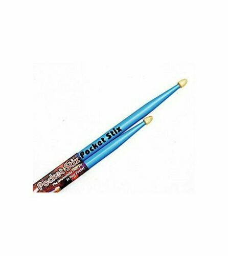 Bebop Blue Drumsticks Youth Kids Children Pocket Stix 11 5A Drum Sticks Pair