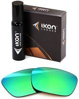 Polarized Ikon Replacement Lenses For Von Zipper Fulton Sunglasses Green Mirror