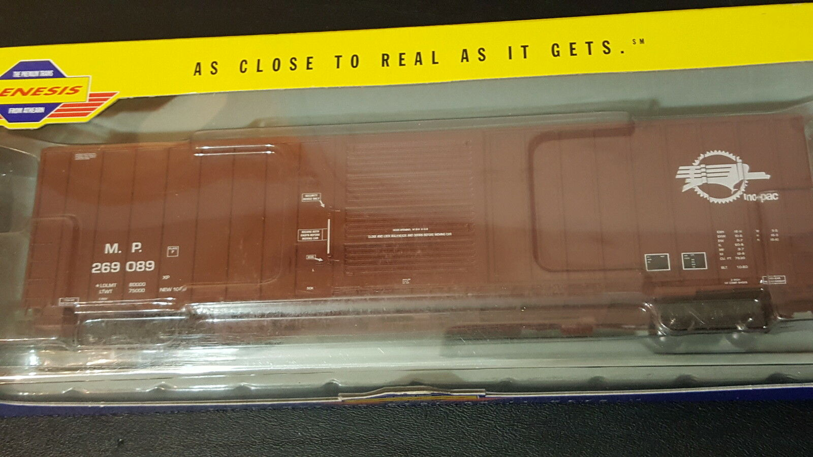 Athearn Genesis MP 60' I.C.C. box car