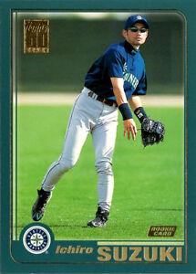 2001 Topps Baseball #726 Ichiro Suzuki Rookie Card   eBay