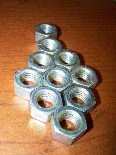 10 5//8-11 5//8 11 military grade hex nut new steel plated MS51967-20 HMMWV army