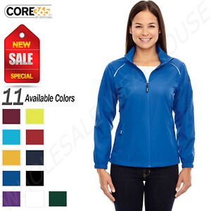 NEW Port /& Company Women/'s Core Fleece Full Zip Hooded S-XL Sweatshirt R-LPC78ZH