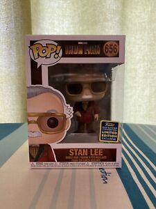 Marvel-Stan-Lee-Gemme-SDCC-POP-VINYL-HMV-Exclusive-Iron-man-656-new