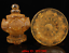 antique Unearthed from ancient temples Crystal carving Lotus Shrine Tower