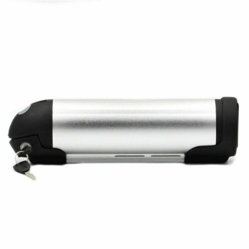 24V 10Ah Bottle Lithium Batterie Fahrrad Akku Ladegerät für 250W Elektrofahrrad