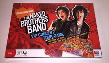 New/Sealed - The Naked Brothers Band VIP Concert Tour Board Game - 2008 Edition